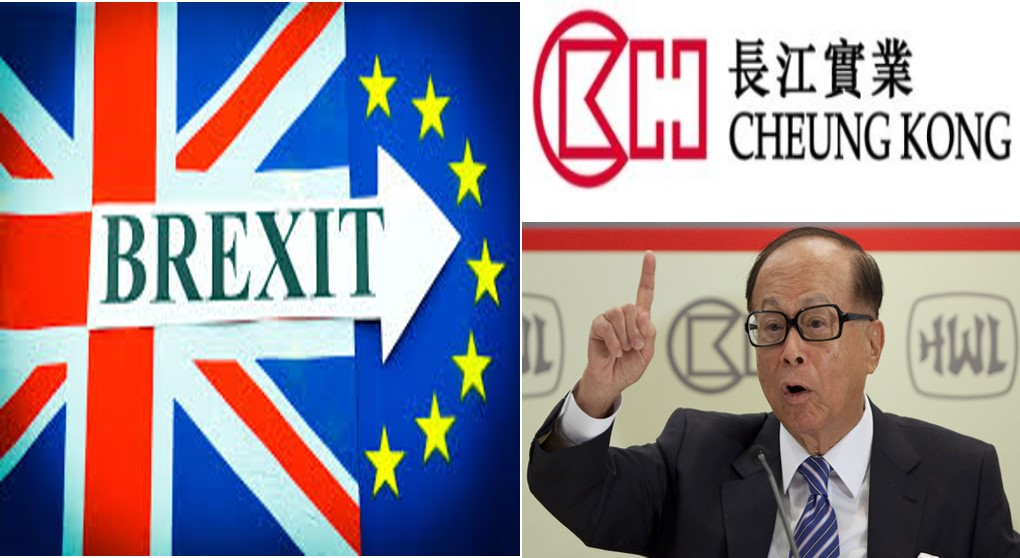 Ein55 Newsletter No 032 - image - Brexit and Li Ka Shing