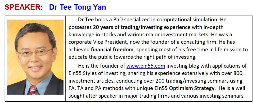Speaker - Dr Tee (Ein55)